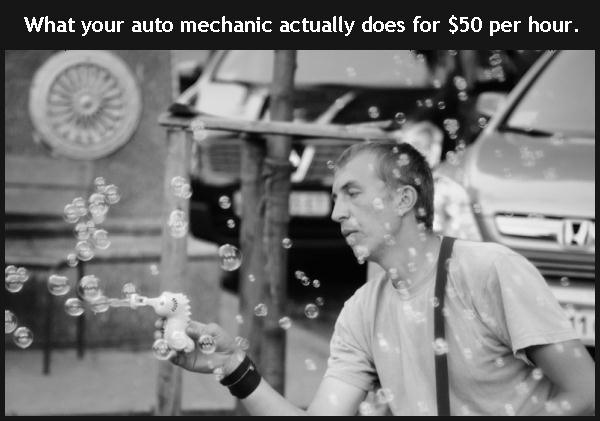 what your auto mechanic actually does