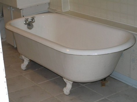 Grow worms effectively in this bathtub.