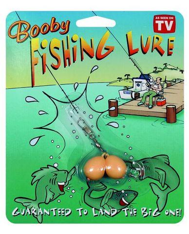 Plastic boobs fishing lure.