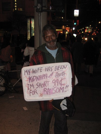 Please give this guy 99 cents.