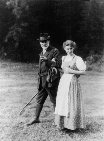 Sigmund Freud was interested in horny people.