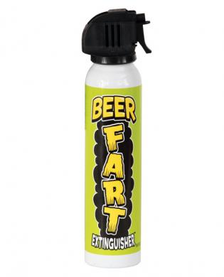 Beer fart emergency extinguisher.